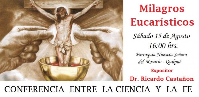 Dr. Ricardo Castañon ofrece conferencia el 15 de Agosto