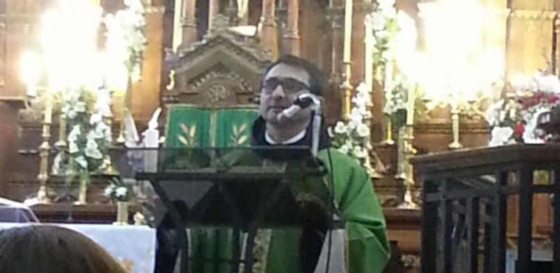 Padre Sergio Olmos compartió su experiencia en Tierra Santa